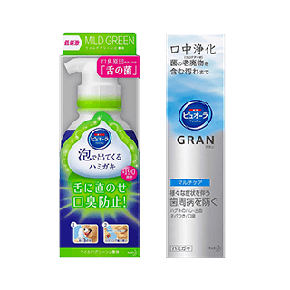 薬用ピュオーラ 泡で出てくるハミガキ マイルドグリーン/薬用ピュオーラ GRAN…